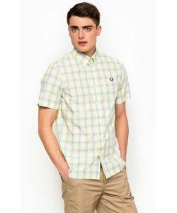 Fred Perry | Желтая Рубашка С Короткими Рукавами