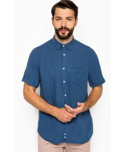 18CRR81 CERRUTI | Льняная Рубашка С Короткими Рукавами