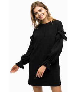Pinko | Черное Платье Свободного Кроя