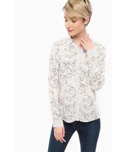 MORE&MORE | Рубашка Из Вискозы С Цветочным Принтом