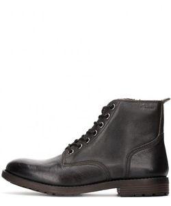 Clarks | Кожаные Ботинки На Молнии И Шнуровке