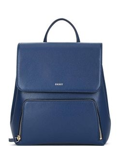 DKNY | Кожаный Рюкзак С Откидным Клапаном