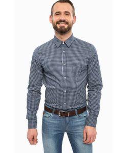 Trussardi Jeans | Синяя Рубашка С Приталенным Кроем