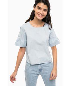 Only | Синяя Хлопковая Блуза