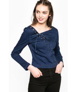 Miss Sixty | Синяя Блуза Со Шнуровкой
