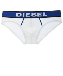 Diesel | Хлопковые Трусы-Брифы С Контрастной Резинкой