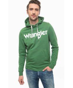 Wrangler   Зеленая Хлопковая Толстовка