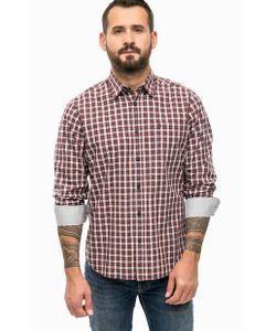 LERROS | Хлопковая Рубашка В Клетку