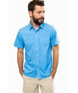Columbia   Синяя Рубашка С Короткими Рукавами