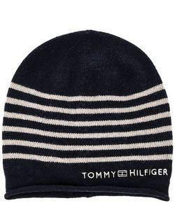 Tommy Hilfiger | Синяя Шапка В Полоску