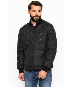 Lee | Черная Стеганная Куртка На Молнии