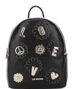 Love Moschino | Рюкзак С Золотистыми Нашивками
