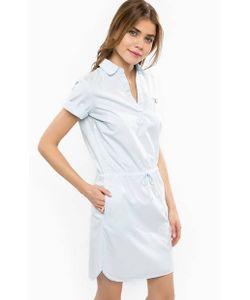 Gant | Платье Из Хлопка С Отворотами На Рукавах