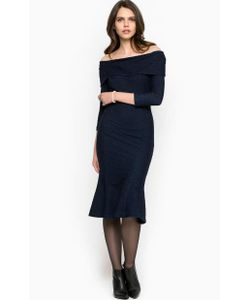Miss Sixty | Темно Платье С Открытыми Плечами