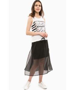 Liu •Jo Jeans | Платье Из Вискозы С Полупрозрачной Вставкой