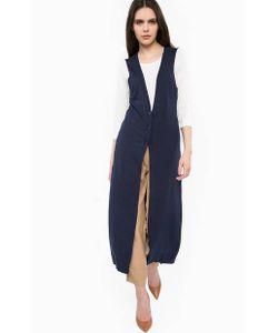 Liu •Jo Jeans | Удлиненный Жилет Из Вискозы С Разрезами