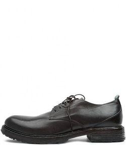 Moma | Классические Кожаные Туфли На Шнуровке