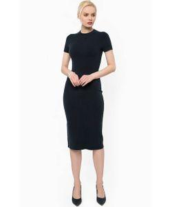 Stefanel | Платье Из Вискозы С Короткими Рукавами
