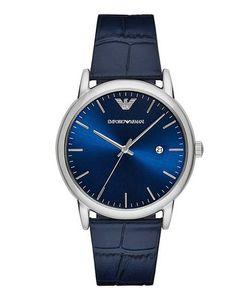 Emporio Armani | Синие Часы С Выделкой Под Рептилию