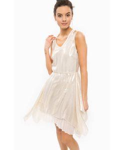 Patrizia Pepe | Шелковое Платье С Металлизированной Нитью
