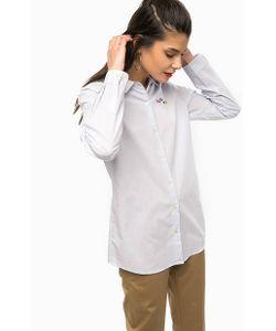 SCOTCH & SODA   Хлопковая Рубашка В Полоску С Вышивкой