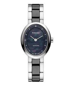 Rodania | Часы Овальной Формы С Перламутрово-Черным Циферблатом