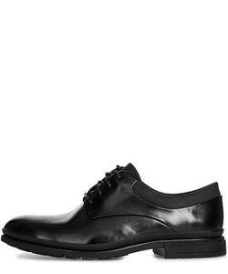 Clarks | Кожаные Туфли С Текстильными Вставками