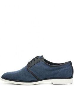 Vagabond | Текстильные Туфли С Кожаными Берцами