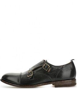 Moma | Черные Кожаные Туфли