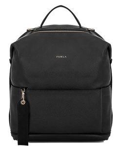 Furla | Вместительный Кожаный Рюкзак