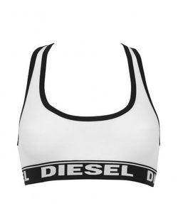 Diesel | Хлопковый Бюстгальтер С Мягкими Чашками
