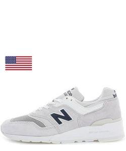 New Balance   Кроссовки Из Натуральной Замши
