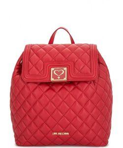 Love Moschino | Стеганный Рюкзак С Одним Отделом