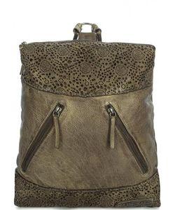 Taschendieb | Кожаный Рюкзак С Перфорированными Вставками