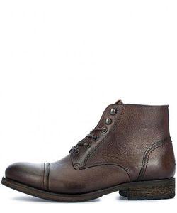 Hilfiger Denim | Кожаные Ботинки На Шнуровке