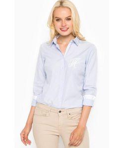 Tommy Hilfiger | Голубая Хлопковая Рубашка С Длинным Рукавом