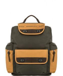 MANDARINA DUCK | Вместительный Рюкзак С Широкими Лямками