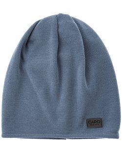 Capo | Синяя Шерстяная Шапка