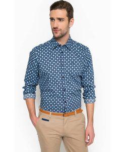 LERROS | Хлопковая Синяя Рубашка