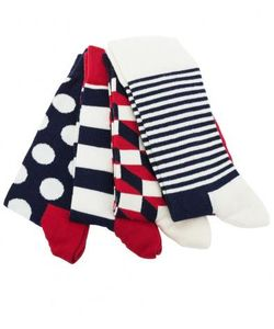 Happy Socks | Комплект Из Четырех Пар Разноцветных Носков