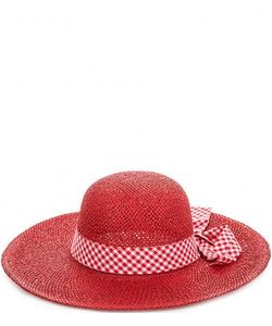 R.Mountain | Красная Бумажная Шляпа С Лентой В Клетку