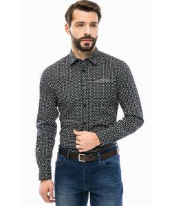 s.Oliver | Хлопковая Рубашка С Двойным Карманом
