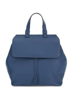 Abro   Сумка-Рюкзак Из Мягкой Кожи Синего Цвета