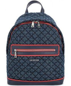 Love Moschino | Вместительный Текстильный Рюкзак В Клетку