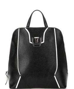 Cromia | Кожаный Рюкзак С Контрастными Вставками