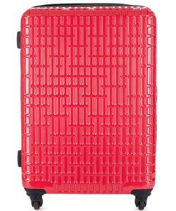 Verage | Пластиковый Чемодан На Колесах Красного Цвета