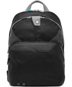 Piquadro   Кожаный Рюкзак С Двумя Отделами