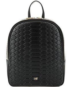 Cavalli Class | Кожаный Рюкзак С Выделкой Под Рептилию