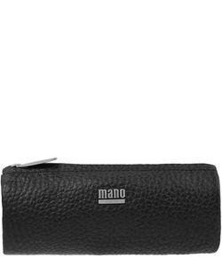 Mano | Черная Косметичка Из Натуральной Кожи