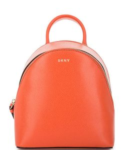 DKNY | Кожаный Рюкзак С Двумя Отделами